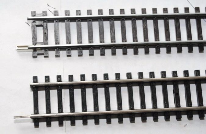 Железная Дорога в Миниатюре №1 - Пассажирский вагон, участок прямого рельсового пути