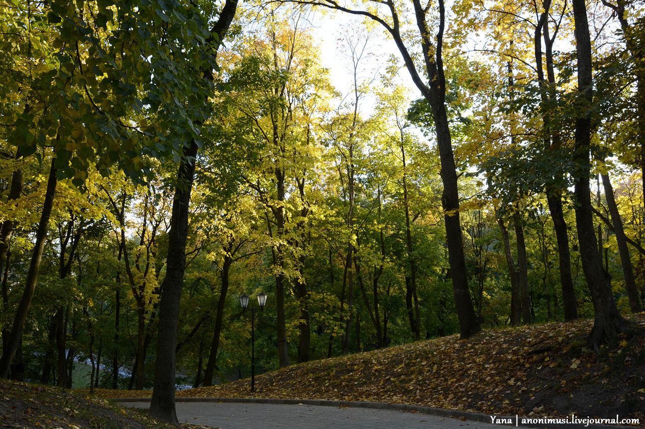 Осень в Гомельском дворцово-парковом ансамбле Румянцевых и Паскевичей