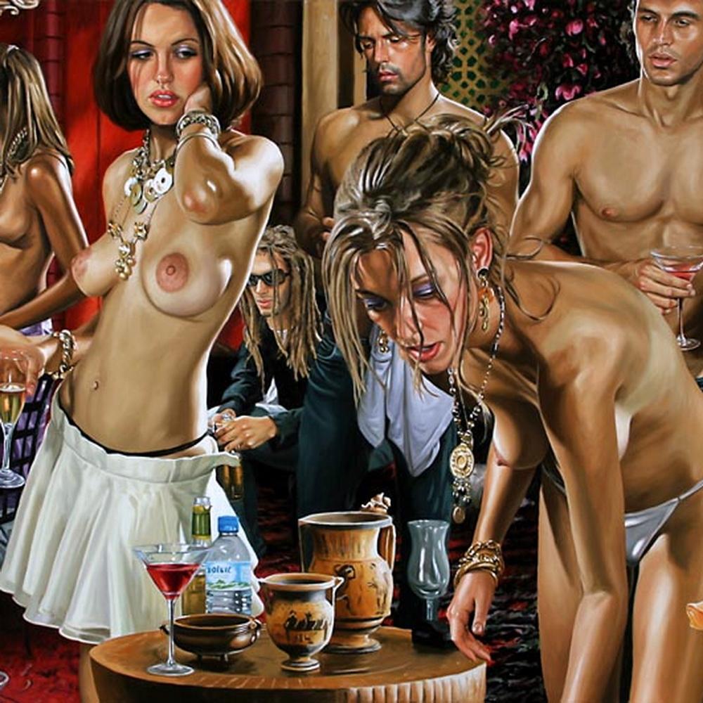 Голые жены домашние порно фото с женой