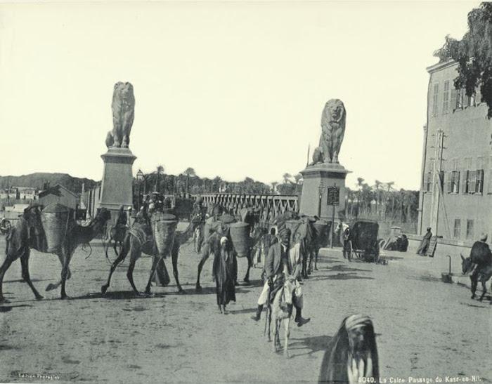 Район Qasr al-Nil в Каире.