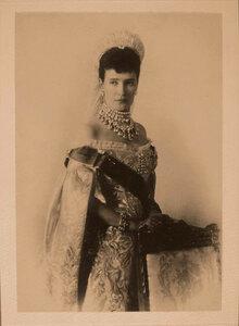 Портрет императрицы Марии Фёдоровны.