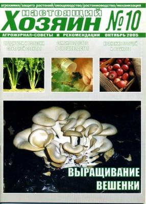 Журнал Журнал Настоящий хозяин №10 2005 (Украина)