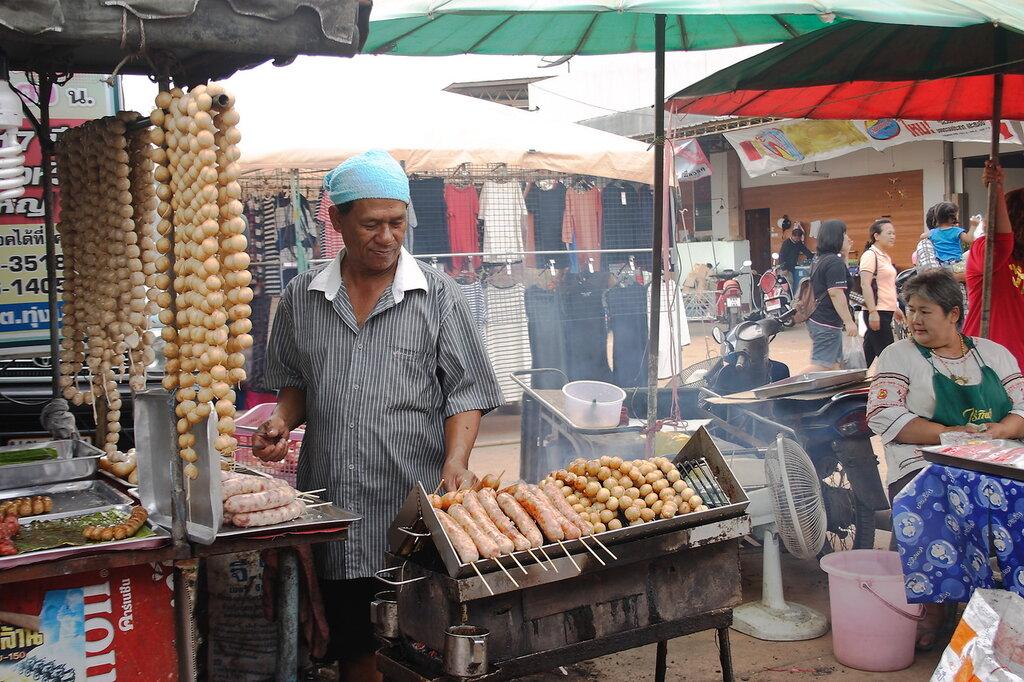 Воскресный рынок в Таиланде