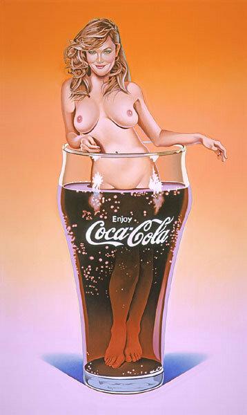 Мэл Рамос ( Mel Ramos ) – Рекламный поп-арт