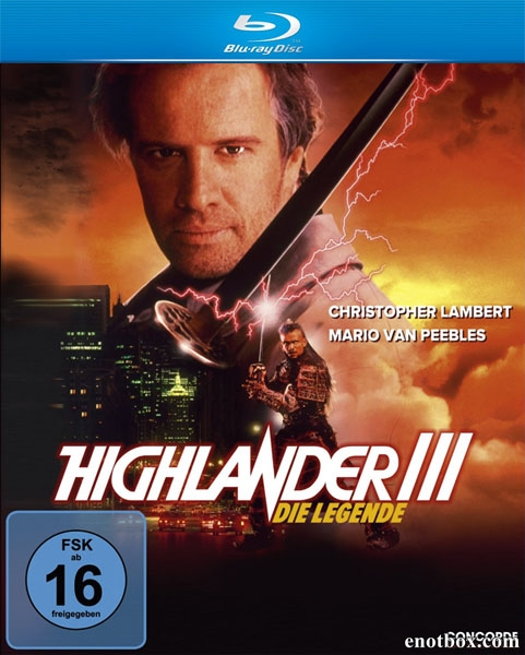 Горец 3: Последнее измерение / Highlander III: The Sorcerer / Highlander 3: The Sorcerer (1994/HDRip)