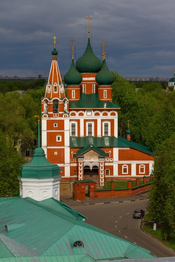 Храм Архангела Михаила, Ярославль