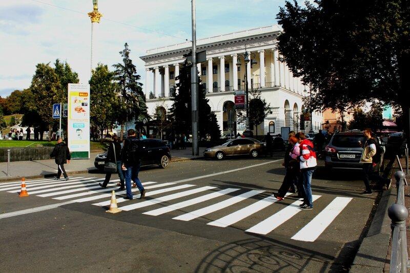 Новый переход по Городецкого