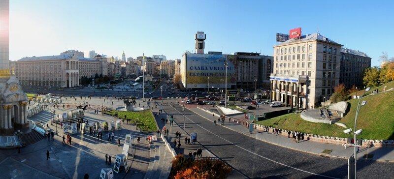 Панорама Майдана Незалежности