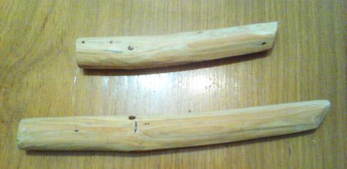 Деревянный танто. Самоделка