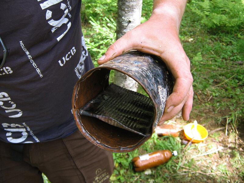 Походная коптильня для рыбы холодного копчения