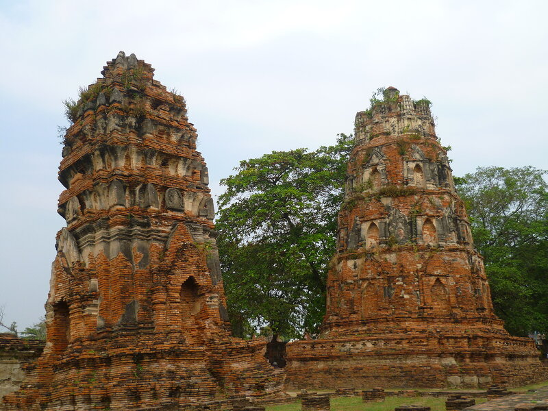 Ват Пра Махатат - Аюттайя, Таиланд (Wat Phra Mahatat - Ayutthaya, Thailand)