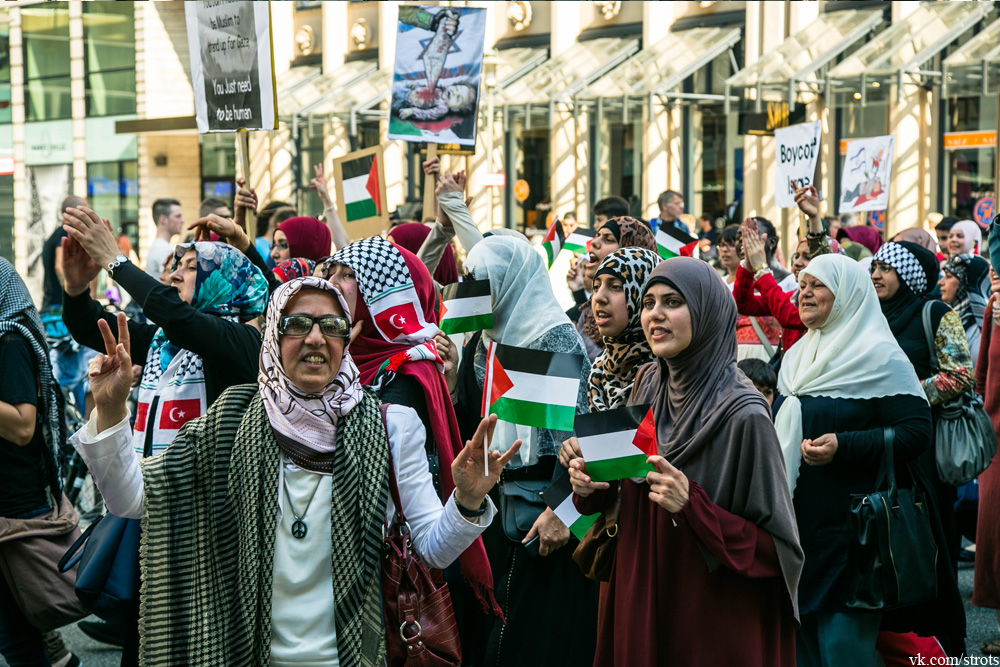 Демонстрация в Гамбурге