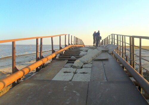Посещение(вело) косы после бури. 2014-09-29
