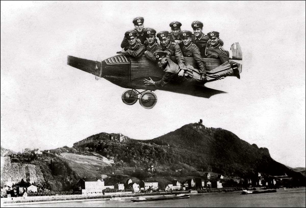 Художественные фоны для фотографий авиационной и воздухоплавательной тематики (18)