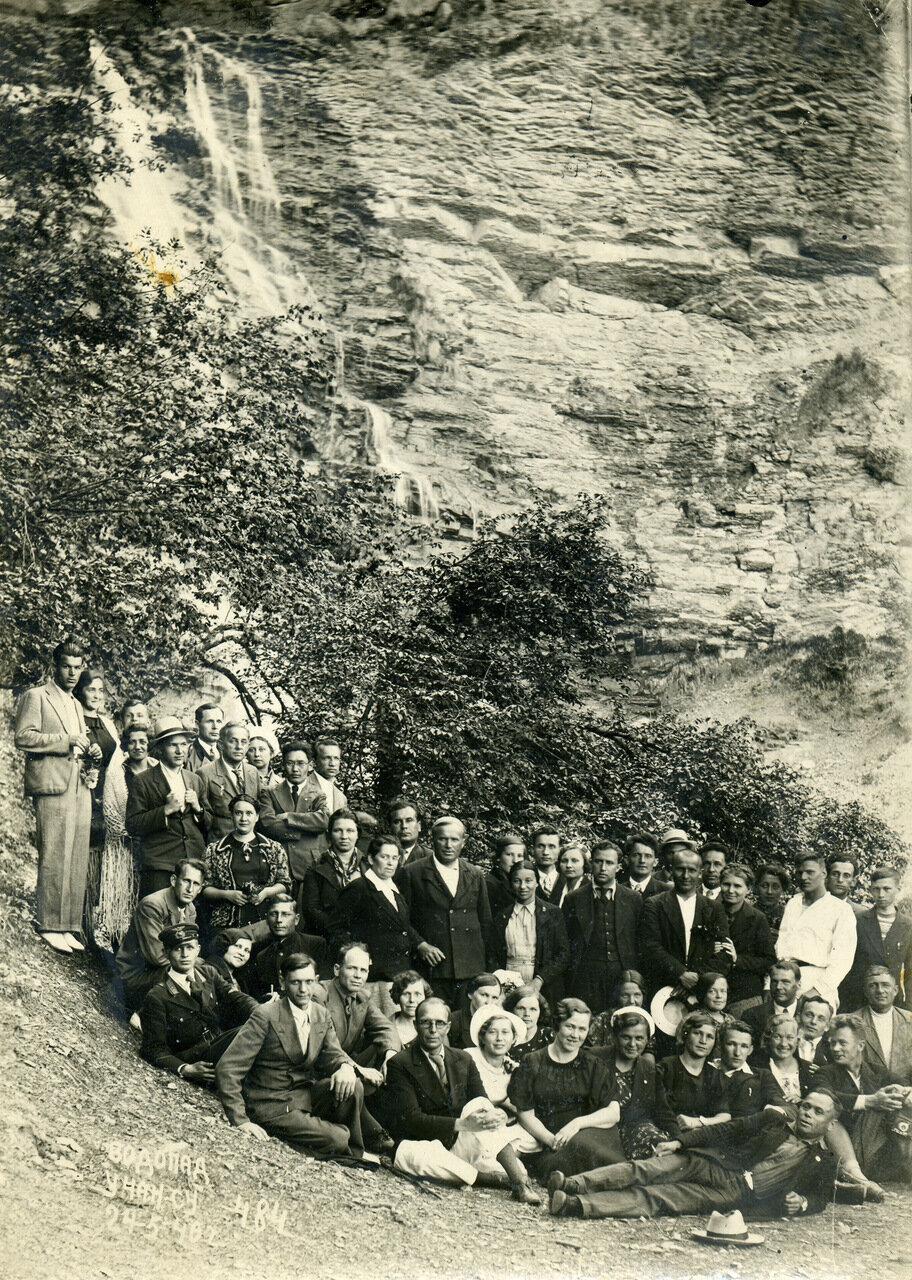 Крым. Алушта. Близ Учан-Су. 24 мая 1940