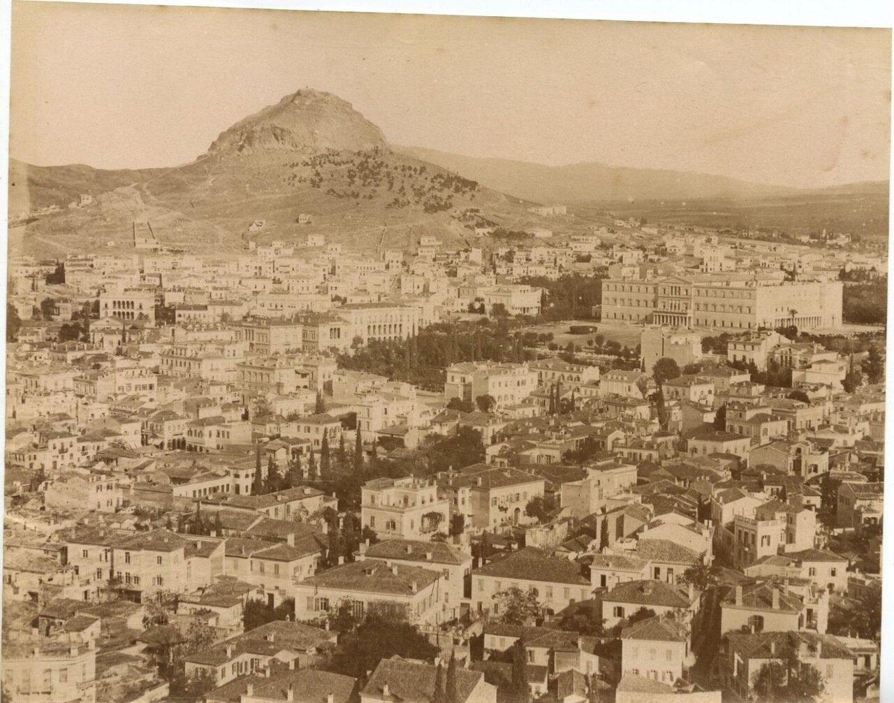 1875. Вид на Ликабет