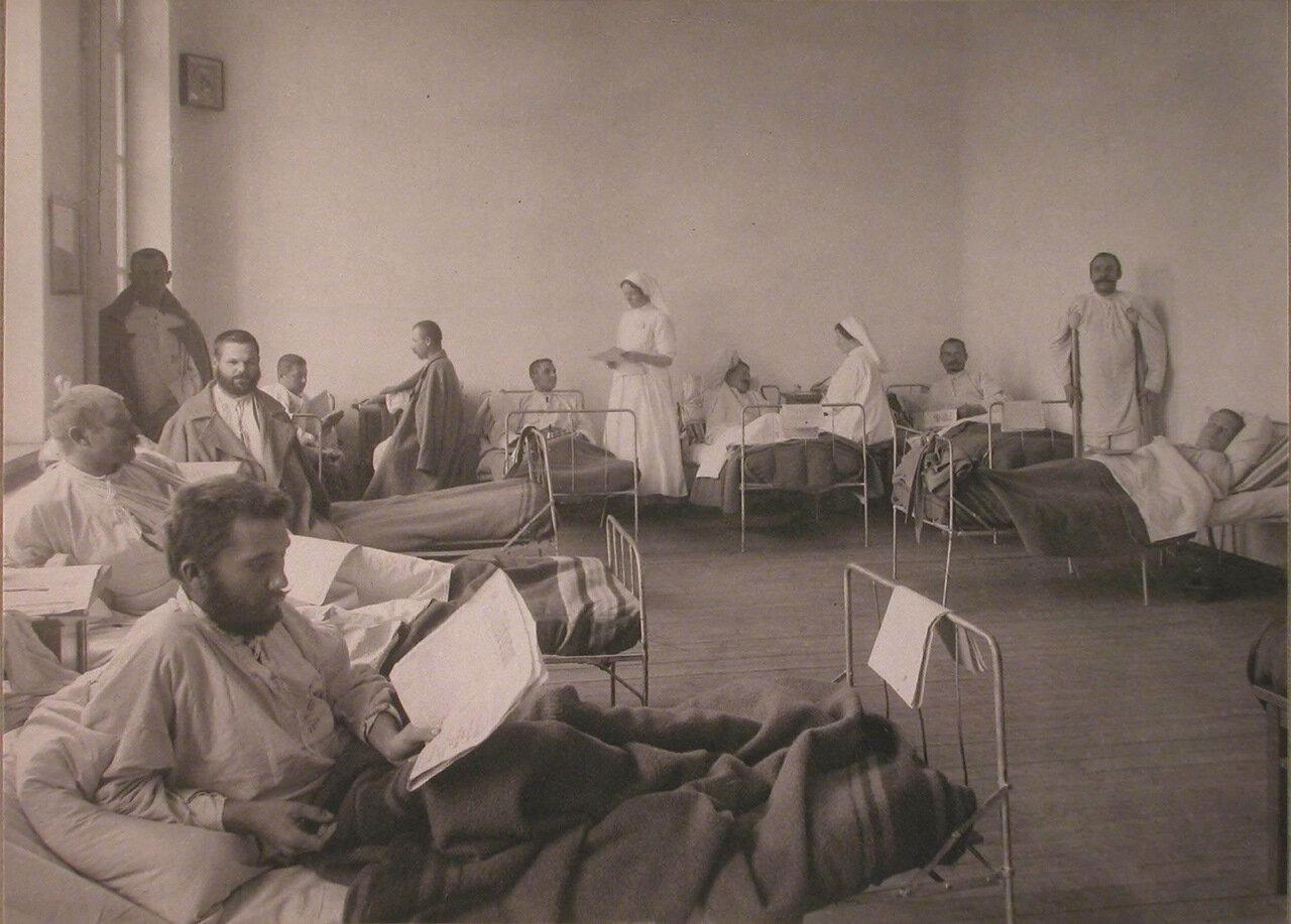 19. Раненые в палате лазарета при Любимовском отделении Щербатовской больницы
