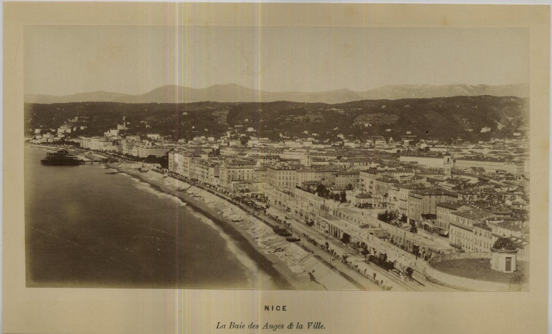 1875. Залив ангелов и город