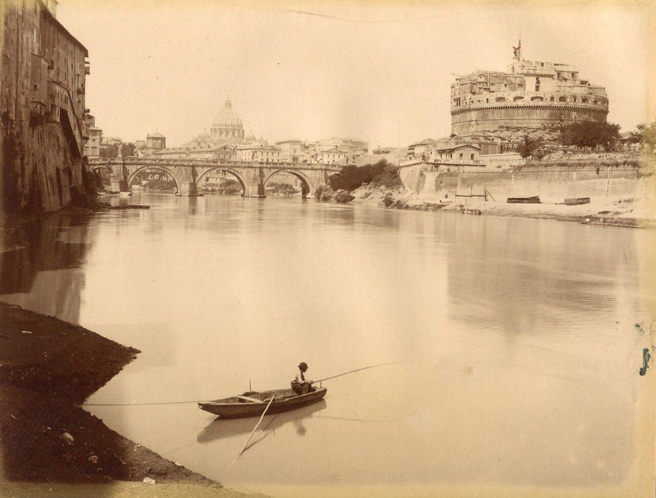 Замок св. Ангела. 1875.