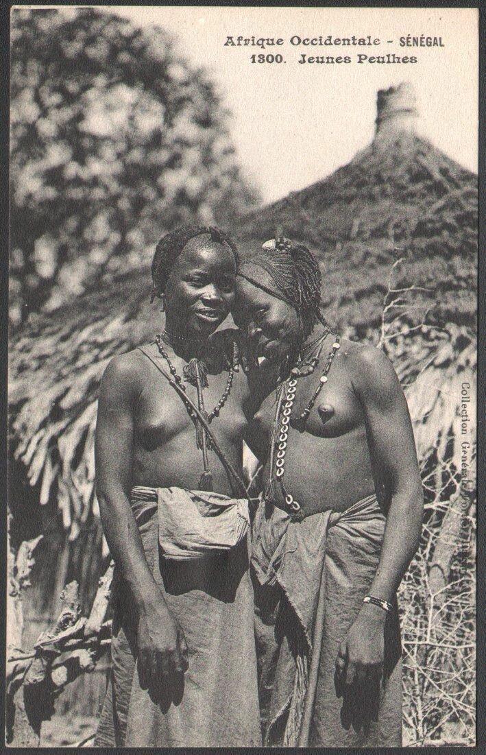 1300. Сенегал.  Девушки народа фула