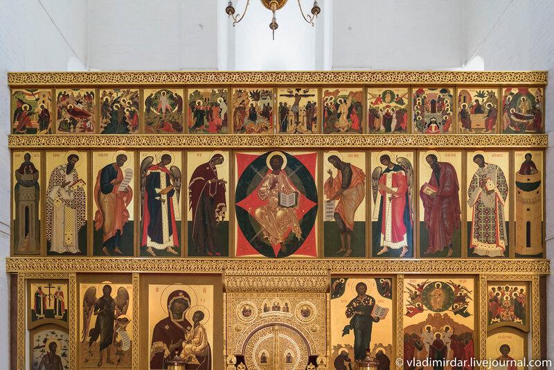 Иконостас Храма Вознесения Господня в Коломенском