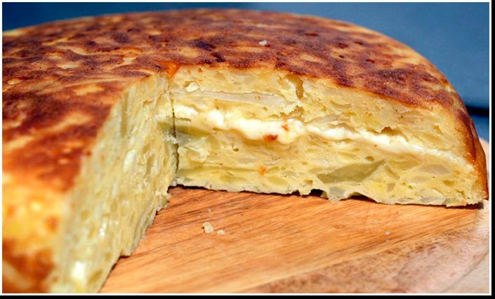 Картофельная запеканка со сметаной и сыром рецепт