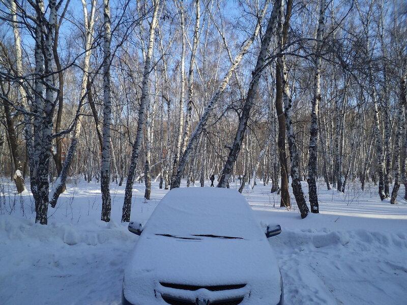 Зима в Омске