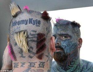 В Британии нашли самого татуированного человека