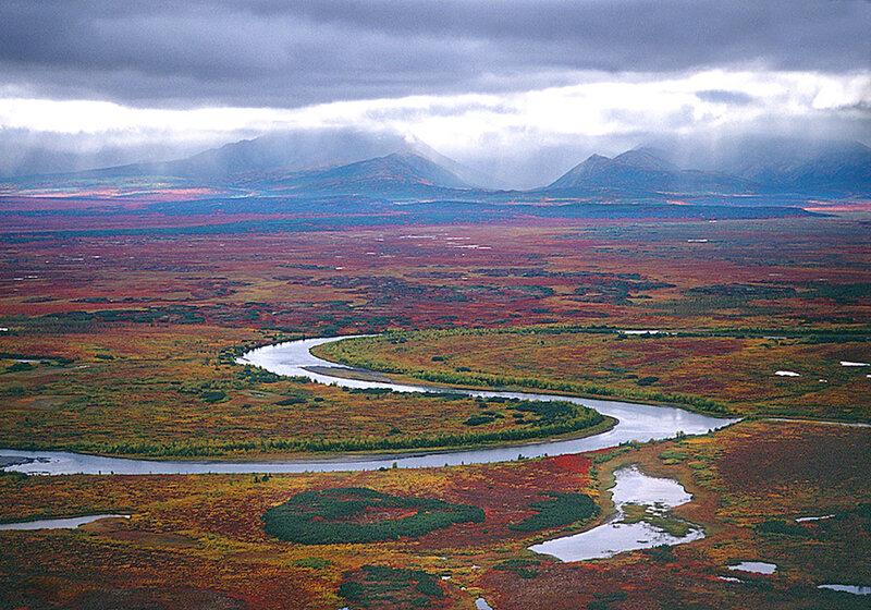 Koryak foothills, Kamchatka, 2000
