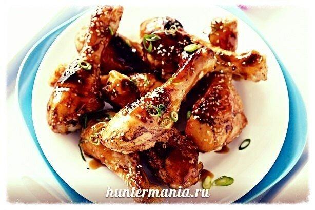 Куриные ножки голени в мультиварке (рецепт)