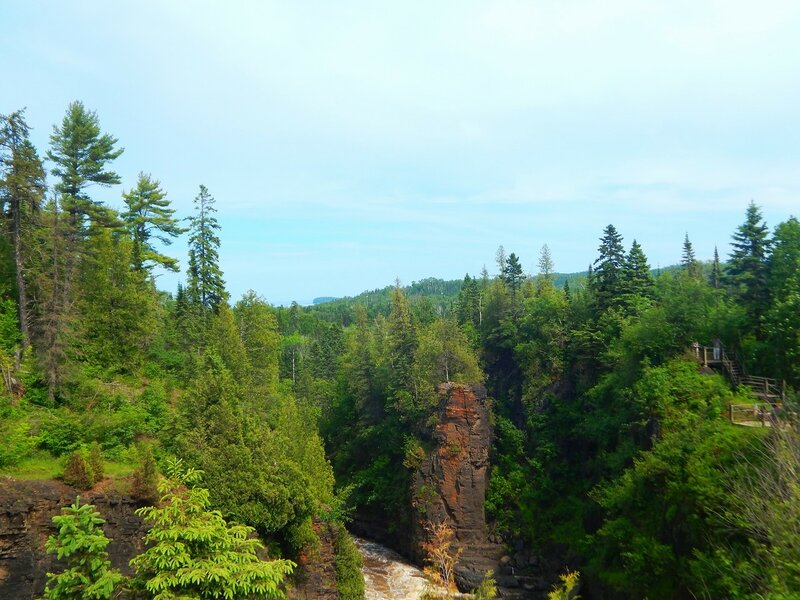 Grand Portage State Park. Hight Falls.