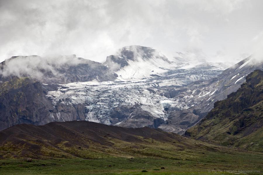 7. Ледники и водопады Эйяфьядлайокудля.