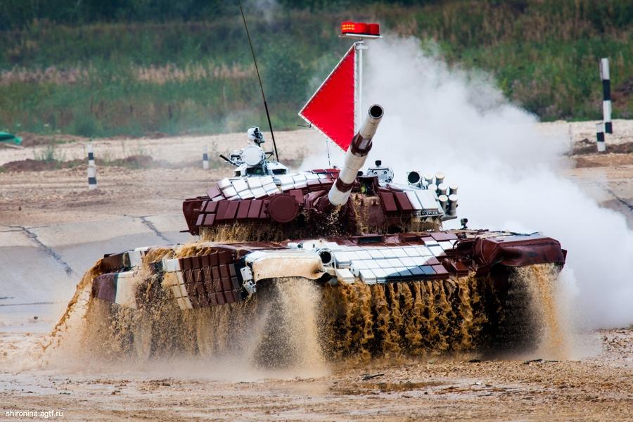 Международный танковый биатлон — 2014