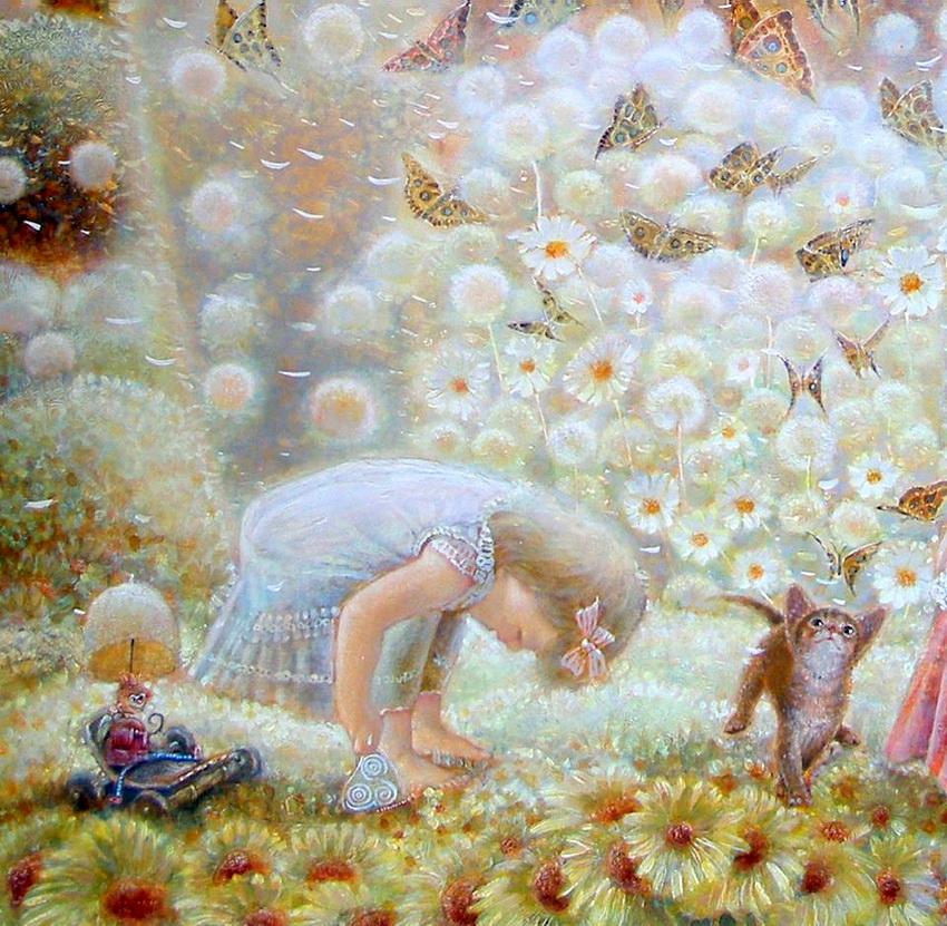 Мишка из цветов в подарок 29