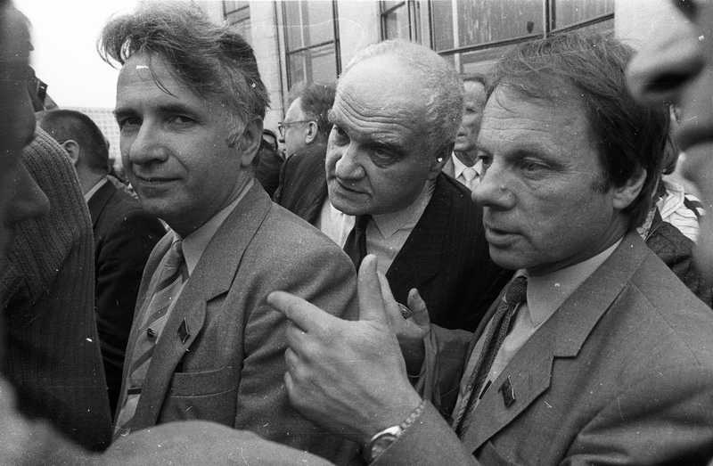 Путч. Москва. 22 августа . 1991г.