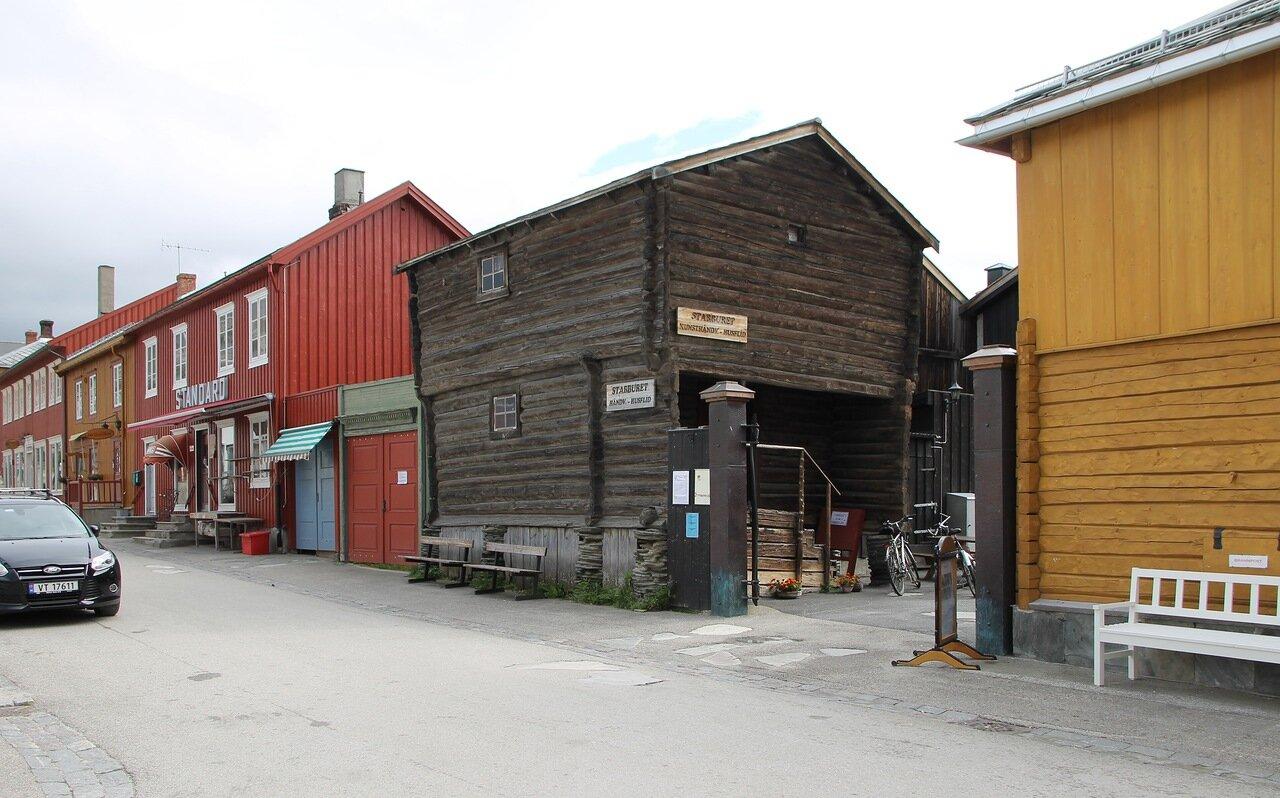 Røros, Kjerkgata street
