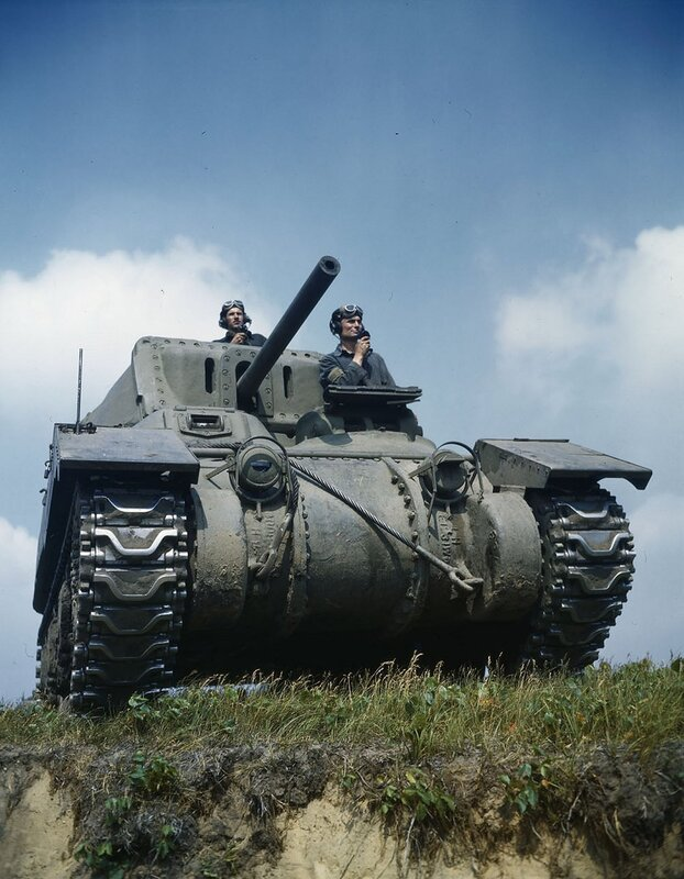 Canadian Ram tank used for training at Camp Borden