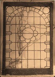 Вид слюдяной рамы церкви во Флорищевой пустыни. Владимирская губ.