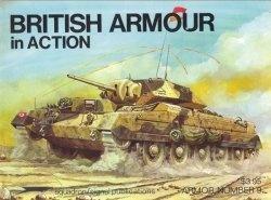 Книга British Armour in Action (Armor 9)