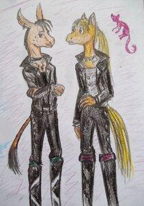 лэри и конь-.jpg
