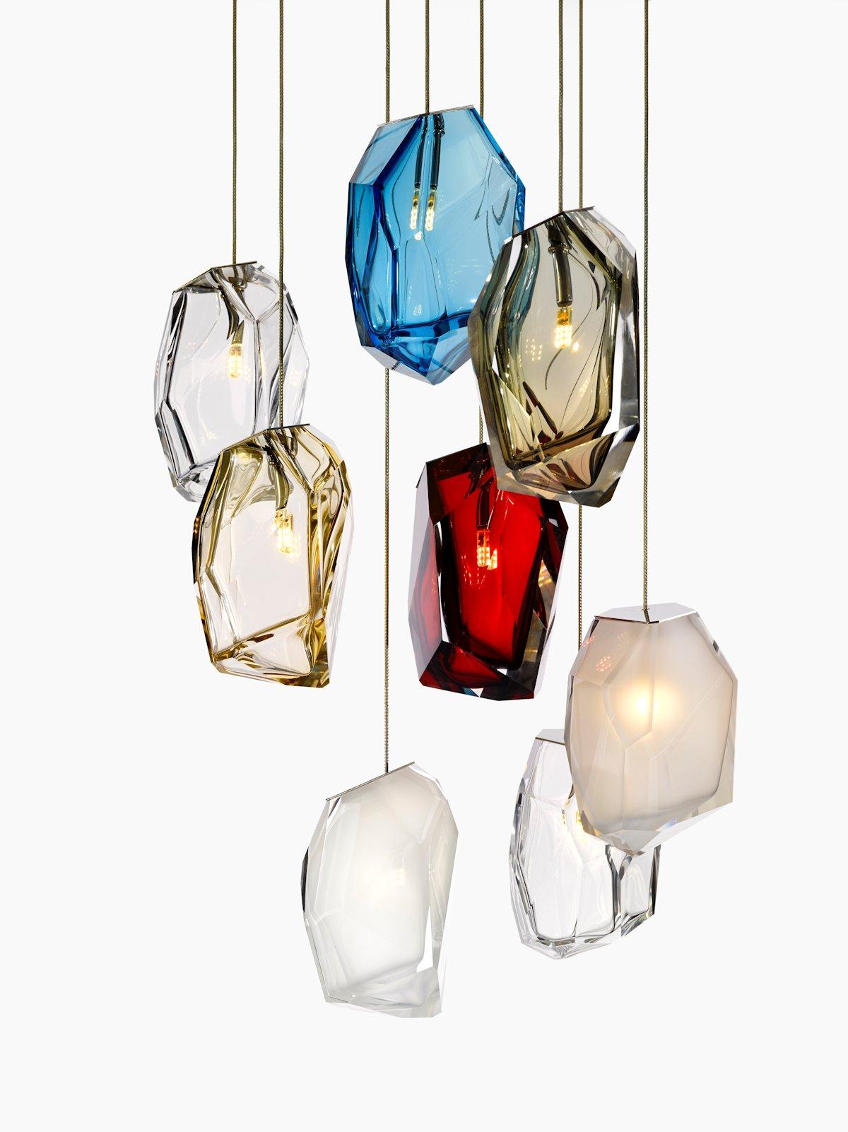 Arik Levi, дизайнер Арик Леви, Арик Леви, Lasvit, каталог Lasvit, светильник Lasvit, Crystal Rock, светильник Crystal Rock, дизайнерский светильник