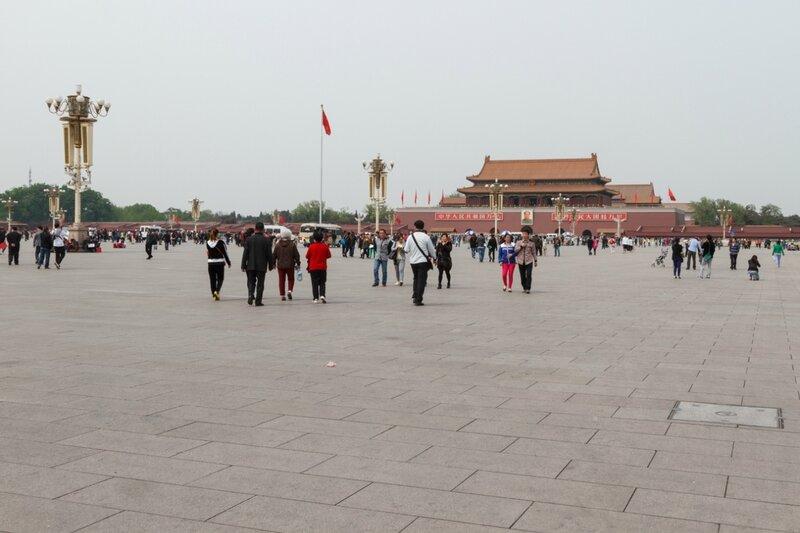 Площадь Тяньаньмэнь и ворота Тяньаньмэнь, Пекин