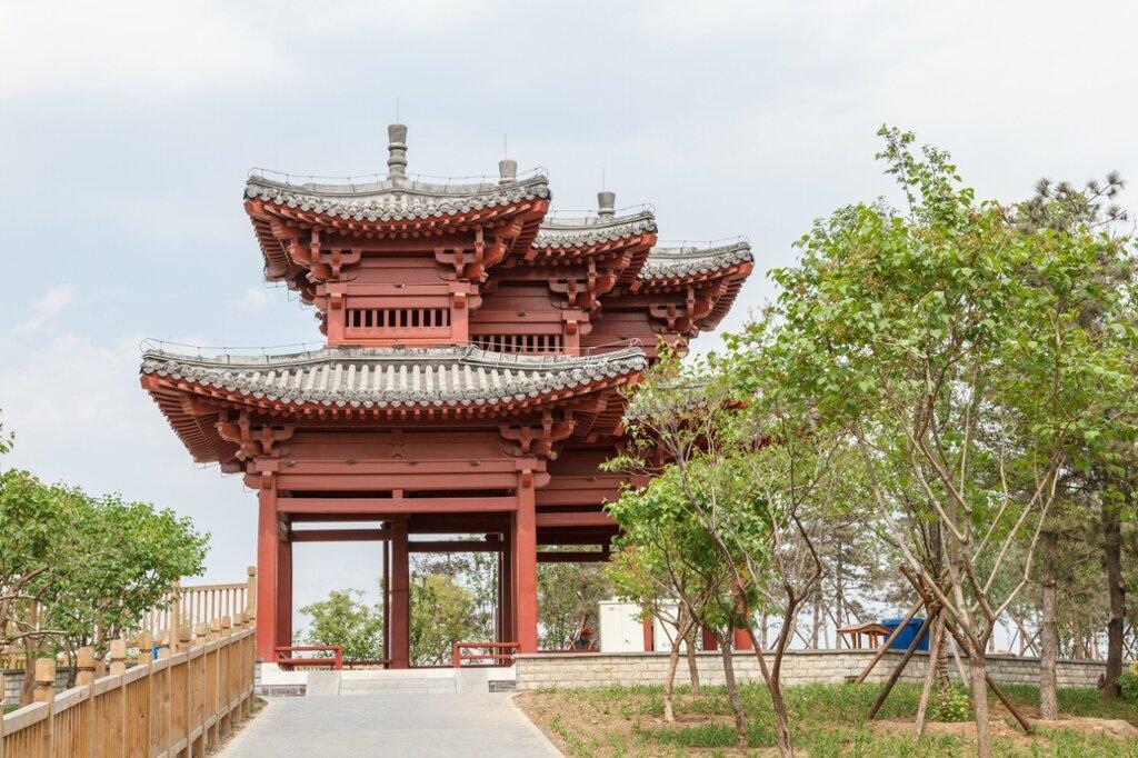 Беседка Вэньюань, Парк-выставка садов, Пекин