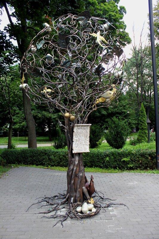 дерево желаний киев хрещатый парк