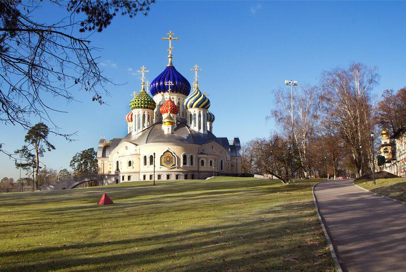 Храм в Переделкино