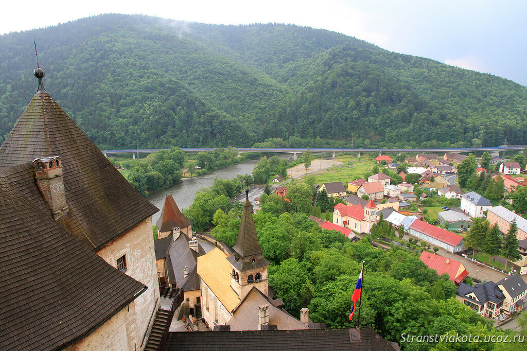 Словакия, Оравский замок