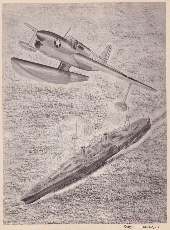 Curtiss SO3C-1 - разведывательный гидросамолет