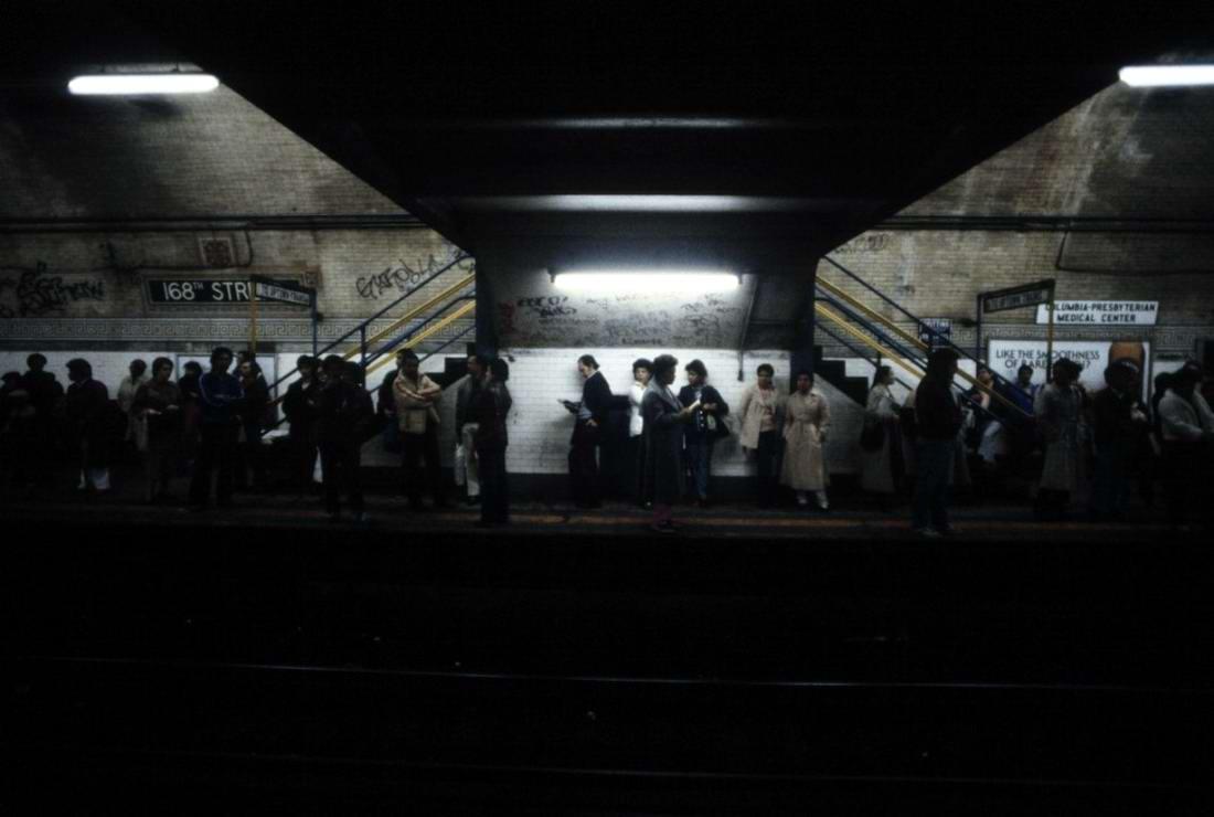 Американский фотограф Christopher Morris: Граффити и андеграунд нью-йоркского метро (18)