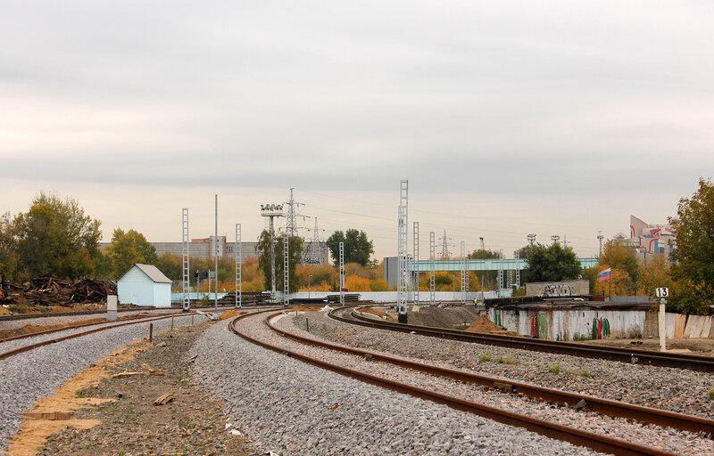 Реконструкция станции Черкизово