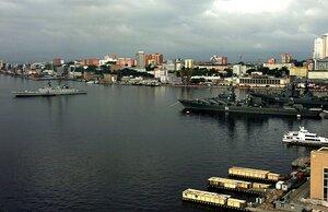 Международный дальневосточный морской салон открылся сегодня во Владивостоке выставкой